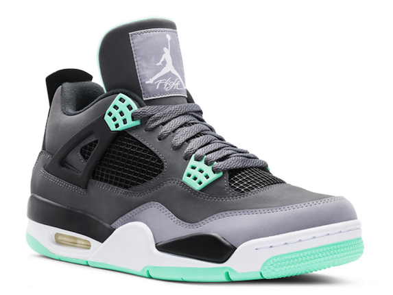best website f1e57 752a6 Air Jordan 4-Green-Glow-41